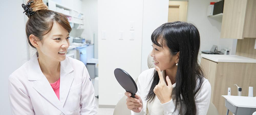 患者様の声を聞くことが大切